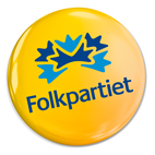 Folkpartiets logotype